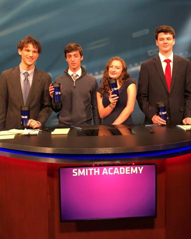 Smith Academy As Schools Match Wits team