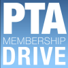 Graphic saying PTA Membership Drive